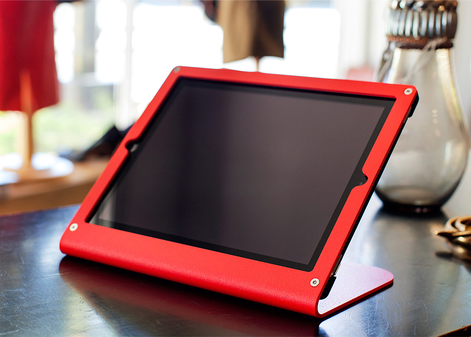 Red Tablet Stand for iPad