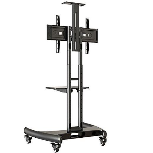 Trak Mobile TV Stand Cart T2 Back