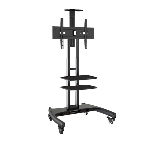 Trak Mobile TV Stand Cart T2D Front