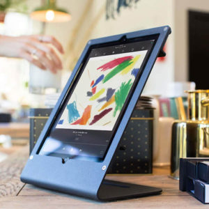 Tablet Stand Portrait for iPad Air & iPad Pro on desk 1