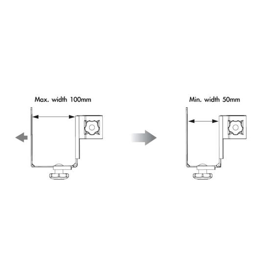 Infinite Monitor Arm CPU Holder C0010 Width