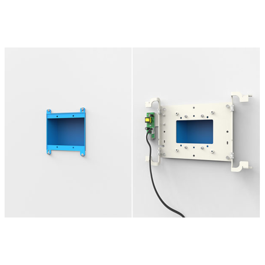 Wall Mount with POE for iPad Air and Pro Installation