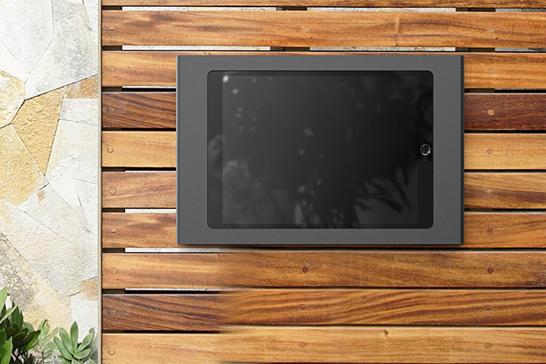 Wall Mount with POE for iPad Air and Pro on Wall
