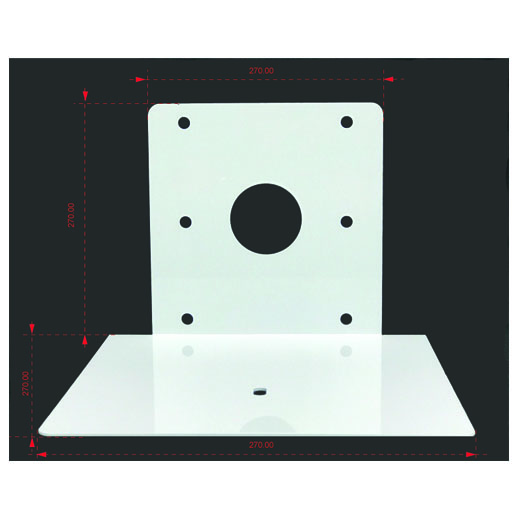 Wall Bracket Thin Profile for Polycom Dimensions