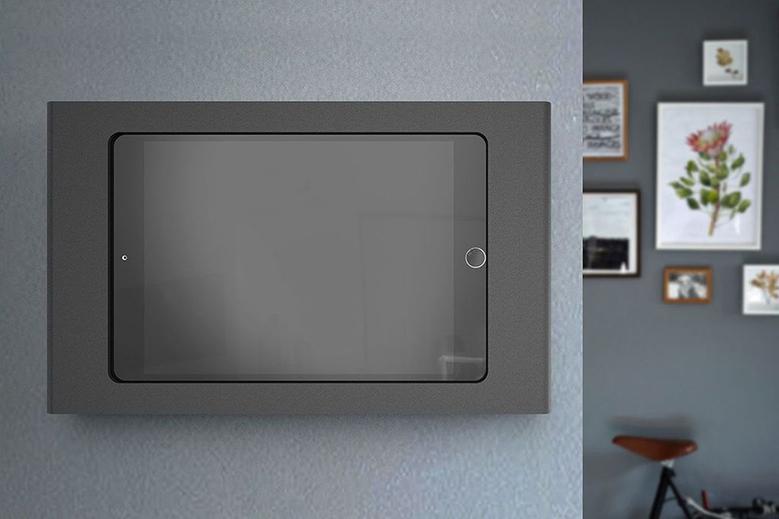 iPad Mini Wall Mount with POE on wall 4