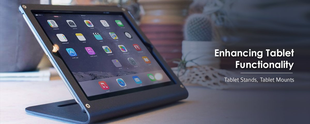iPad Stand Banner