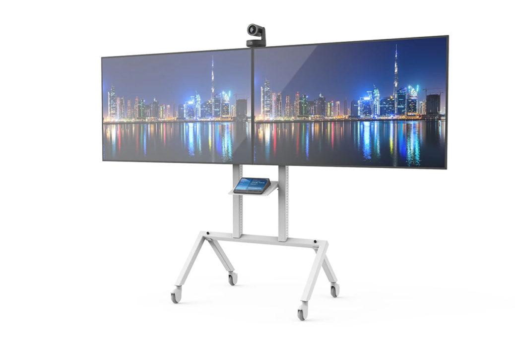 Heckler AV Cart Prime Dual Screen H700